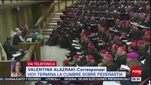 FOTO: Termina cumbre en el Vaticano sobre abusos sexuales por parte del clero, 23 febrero 2019
