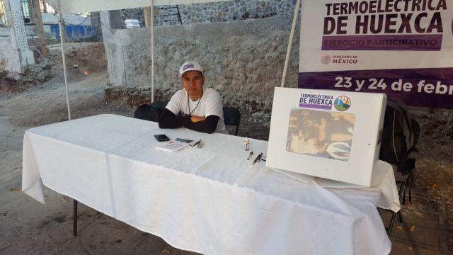 Foto: Habitantes de la comunidad de Huexca, en Morelos, permitirán la instalación de las mesas de consulta ciudadana sobre la termoeléctrica, 24 febrero 2019
