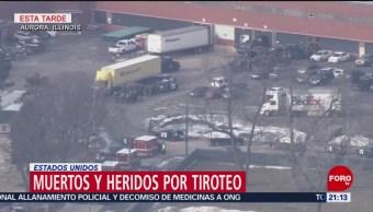 Foto: Tiroteo Muertos Fábrica Aurora Illinois 15 de Febrero 2019
