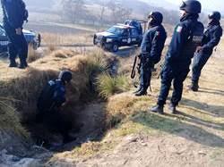 Foto: La Policía Federal implementó en los 11 lugares un dispositivo de seguridad perimetral, el 23 de febrero de 2019. (Noticieros Televisa)