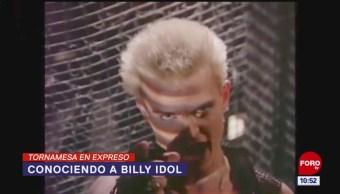 Tornamesa en Expreso: Conociendo a Billy Idol
