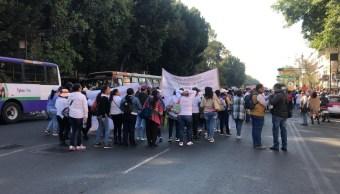 Foto: Trabajadores de estancias infantiles marchan en CDMX 5 febrero 2019