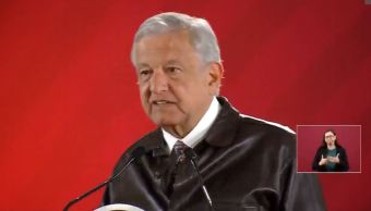 Foto: Transmisión en vivo Conferencia de prensa AMLO 25 febrero 2019