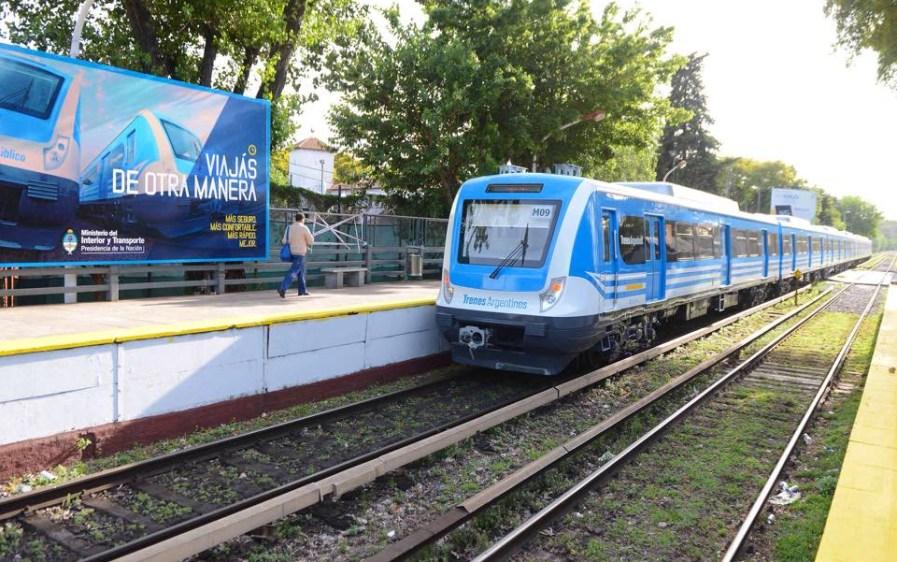 foto tren argentina Trenes Argentinos Operaciones 7 febrero 2019