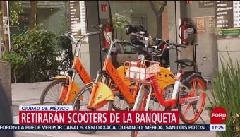 Foto: Vecinos retirarán bicicletas y monopatines fuera de lugar en la Condesa