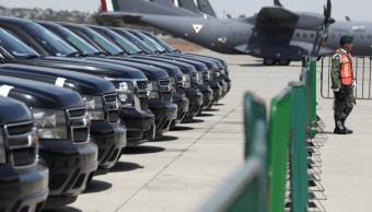 Foto: Vehículos oficiales subastados por el gobierno de AMLO, 23 de febrero de 2019, México