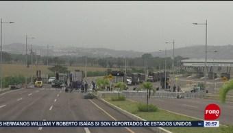 Foto: Venezuela Cierra Frontera Con Colombia 22 de Febrero 2019