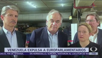 Venezuela impide entrada a diputados del Parlamento Europeo