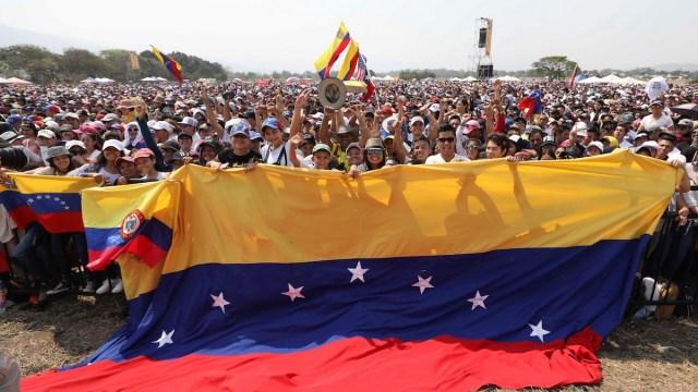 Foto Venezuela Live Aid 23 Febrero 2019