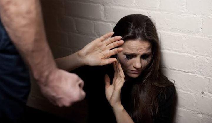 Foto: De una mujer víctima de violencia intrafamiliar, 7 FEBRERO 2019