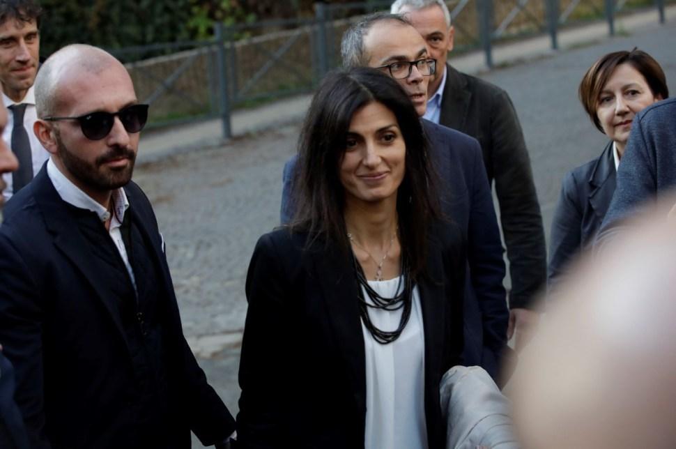 Virgina Raggi, la alcaldesa de Roma que ha impulsado programas laborales para presos (AP Images)
