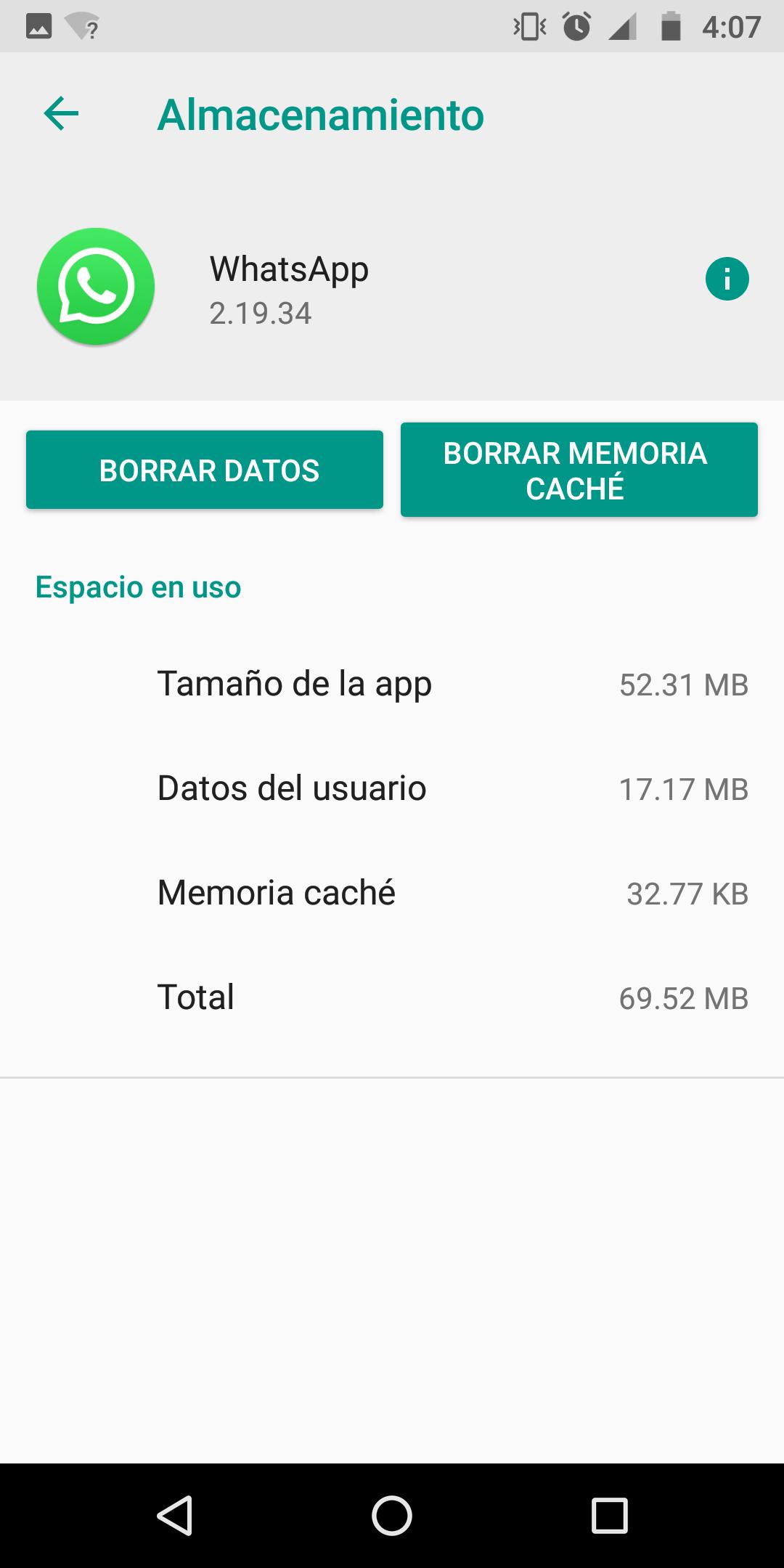 limpiar-cache-borrar-datos-Whatsapp-celular