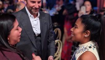 foto Yalitza Aparicio y Bradley Cooper 4 febrero 2019