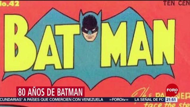 Foto: 80 años de Batman