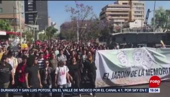 Foto: Justicia Estudiantes Desaparecidos Jalisco 19 de Marzo 2019