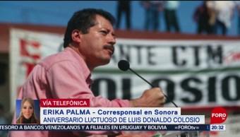 Foto: Actividades Tijuana Sonora Aniversario Luctuoso Colosio 22 de Marzo 2019