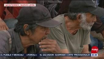 Foto: Agreden Migrantes Nuevo León 13 de Marzo 2019