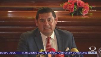 Alejandro Armenta solicita posponer regreso al Senado