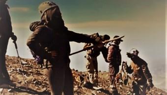 Alpinistas escalaron al cráter del Popocatépetl días antes de la explosión