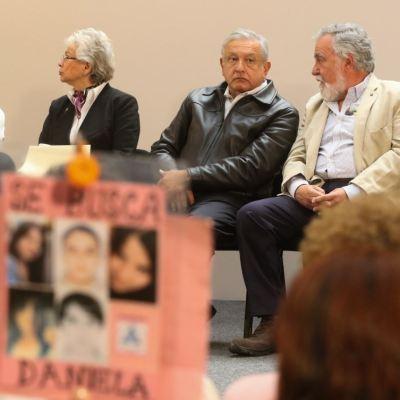 AMLO: habrá recursos para encontrar a desaparecidos
