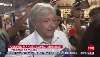 FOTO: AMLO lamenta multihomicidio en centro nocturno en Guanajuato, 10 marzo 2019