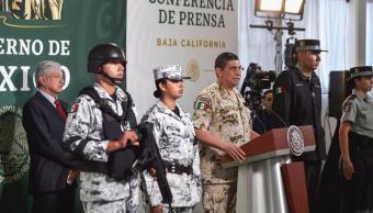 Foto: Presentan uniformes que utilizará la Guardia Nacional 27 marzo 2019