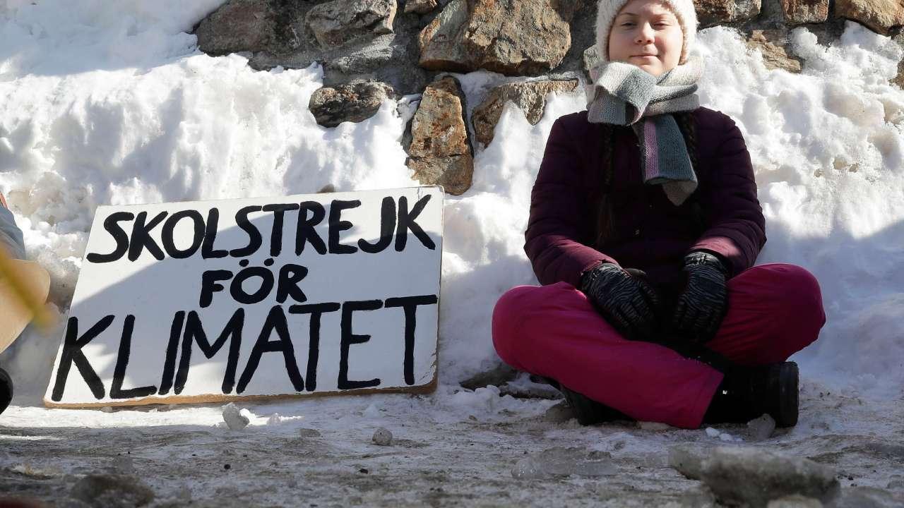 fot Nominan al Nobel de la Paz a Greta Thunberg 25 enero 2019