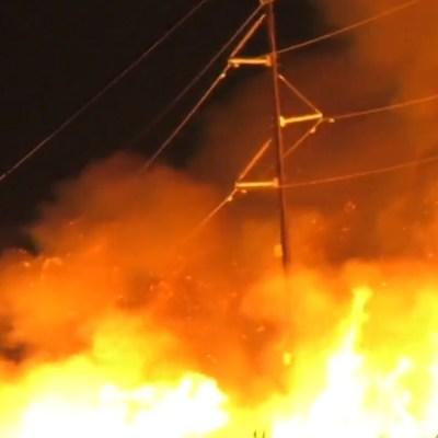 Apagón en la Península de Yucatán fue por quema de caña en Campeche