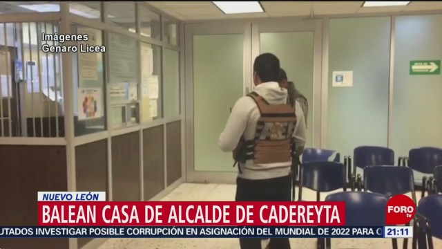 FOTO: Atacan casa de alcalde de Cadereyta, Nuevo León, 10 marzo 2019