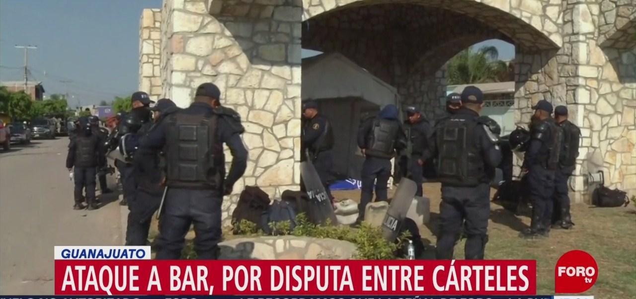 Foto: Ataque a bar en Guanajuato, por disputa entre cárteles: Sophia Huett