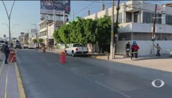 Foto: Ataque Fiscalía Irapuato Guanajuato 6 de Marzo 2019