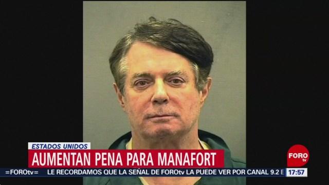 Foto: Aumentan pena de prisión a Paul Manafort