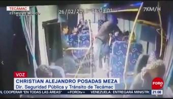 Foto: Robos Transporte Público Edomex 1 de Marzo 2019