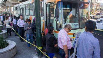 Foto: Camiones de RTP brindarán apoyo al Metro por mantenimiento de escaleras eléctricas, el 17 de marzo de 2019 (Cuartoscuro, archivo)
