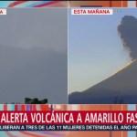 Foto: Autoridades revisan y evalúan rutas de evacuación aledañas al Popo