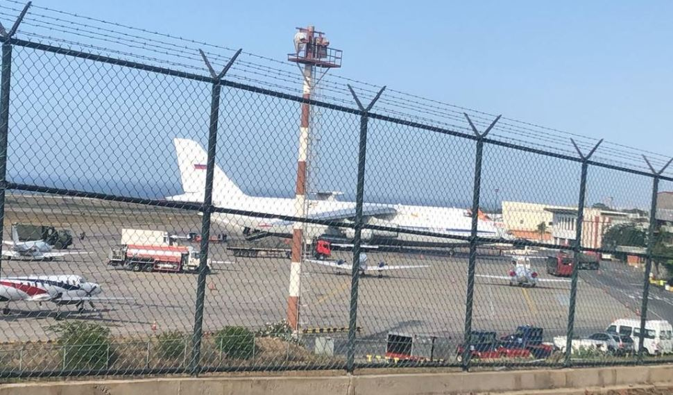 Foto: Aviones militares rusos aterrizan en el principal aeropuerto de Venezuela, 24 marzo 2019