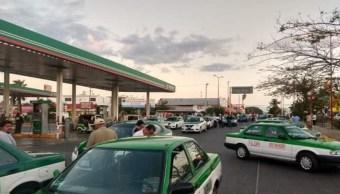 Foto: Bloqueos de transportistas en Oaxaca, 20 de marzo 2019. Twitter @diarioelfortin