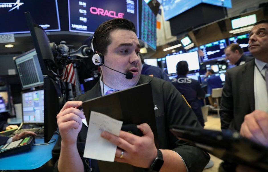 Foto: Los comerciantes trabajan en el piso de la Bolsa de Nueva York (NYSE) en Nueva York, EU, 13 de marzo de 2019 (Reuters)