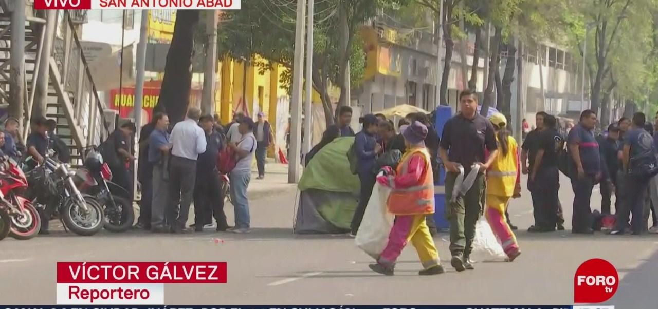 Foto: Bomberos continúan con bloqueos en la CDMX