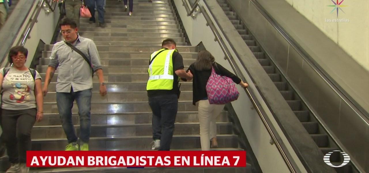Foto: Brigadistas Apoyarán Usuarios Metro 14 de Marzo 2019