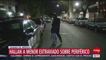 Bruno Itzae Fabián Montiel, niño que deambulaba solo en CDMX