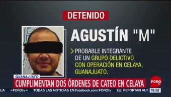 FOTO:Cae integrante de grupo delictivo en Celaya, Guanajuato, 24 Marzo 2019
