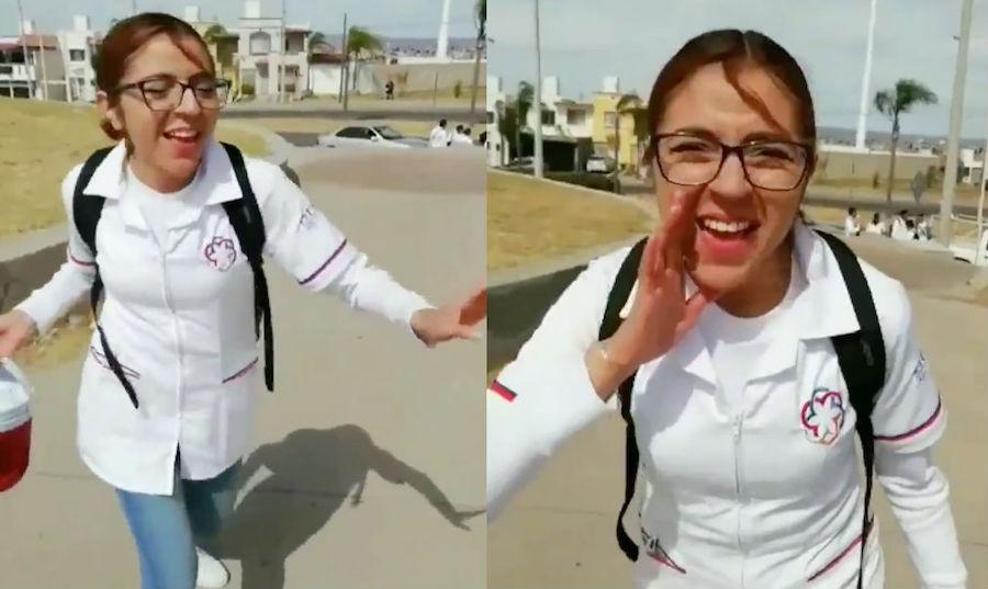Foto Canta y baila para promover campaña de vacunación y se hace viral 1 marzo 2019
