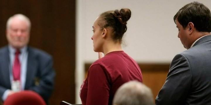 Cassie Barker será sentenciada el próximo 1 de abril (New York Post)
