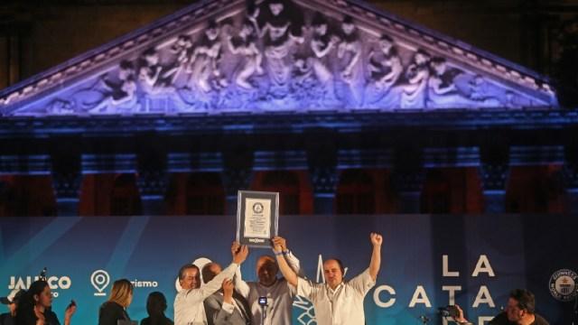 México logra Récord Guinness de la cata de tequila más grande del mundo