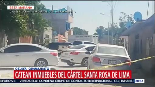 Foto: Catean Casas Cártel Santa Rosa Lima Celaya 28 de Marzo 2019