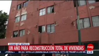 CDMX inicia reconstrucción de 11 mil 739 viviendas afectadas el 19S
