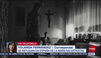 FOTO: Centroamericanos se refugian en España para escapar de la Mara Salvatrucha, 2 marzo 2019