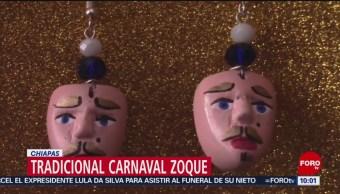 FOTO: Chiapas celebra el tradicional carnaval Zoque, 2 marzo 2019