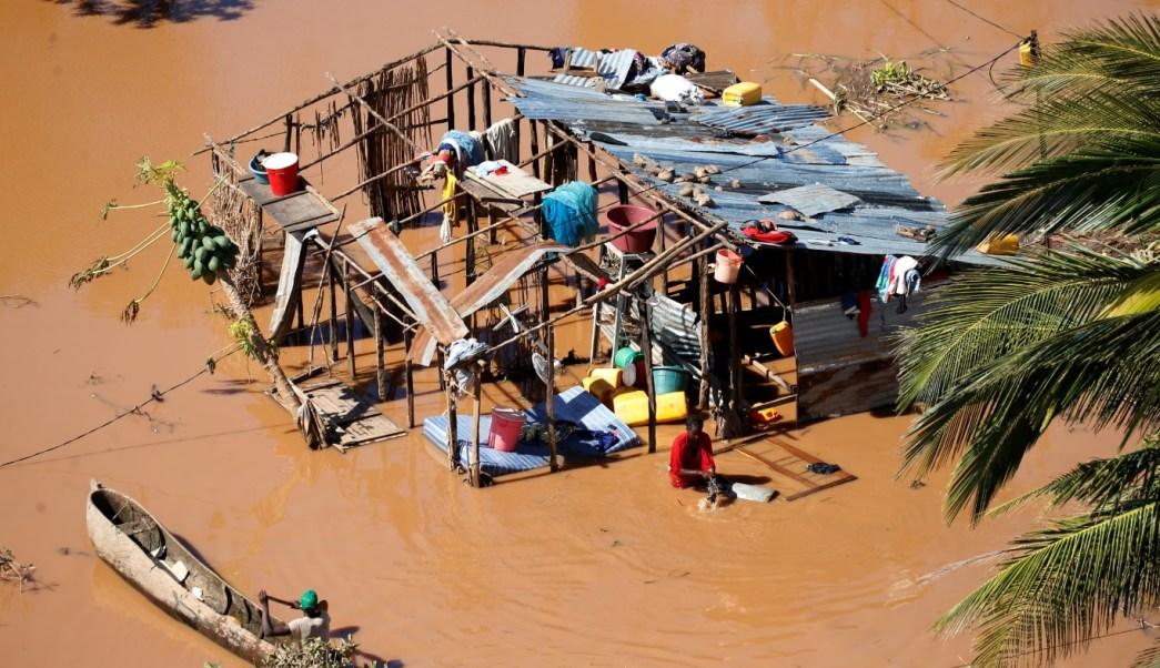 Apocalíptico ciclón Idai en África deja medio millar de muertos